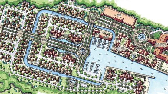 Community Master Plan for Cristallago on the Lake
