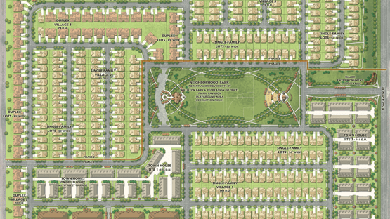 Community Master Plan for Harvest Hills