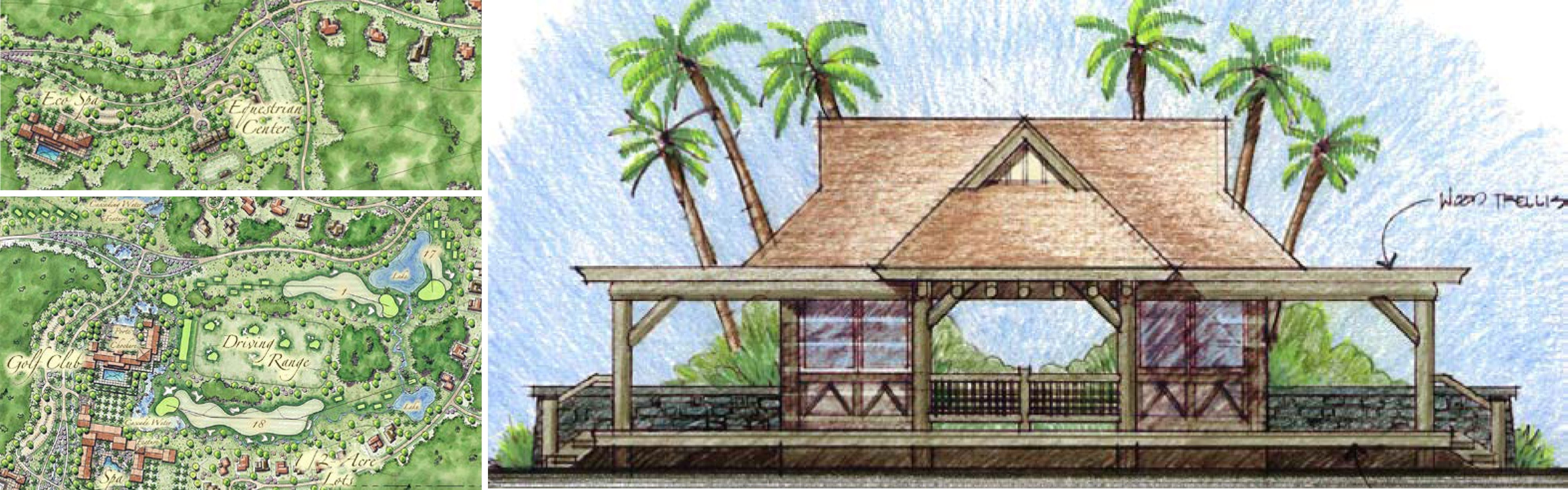 Master Planning Architecture Design In Captain Hook, Hawaii