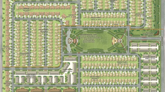 Master planned community located in Williston North Dakota with over 1,500 new planned residences