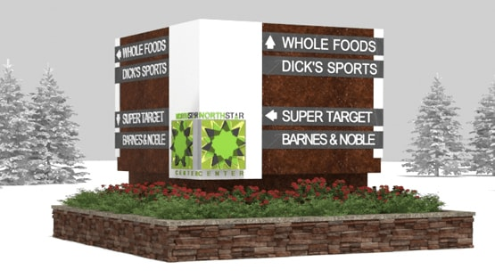 Monument Sign Renderings
