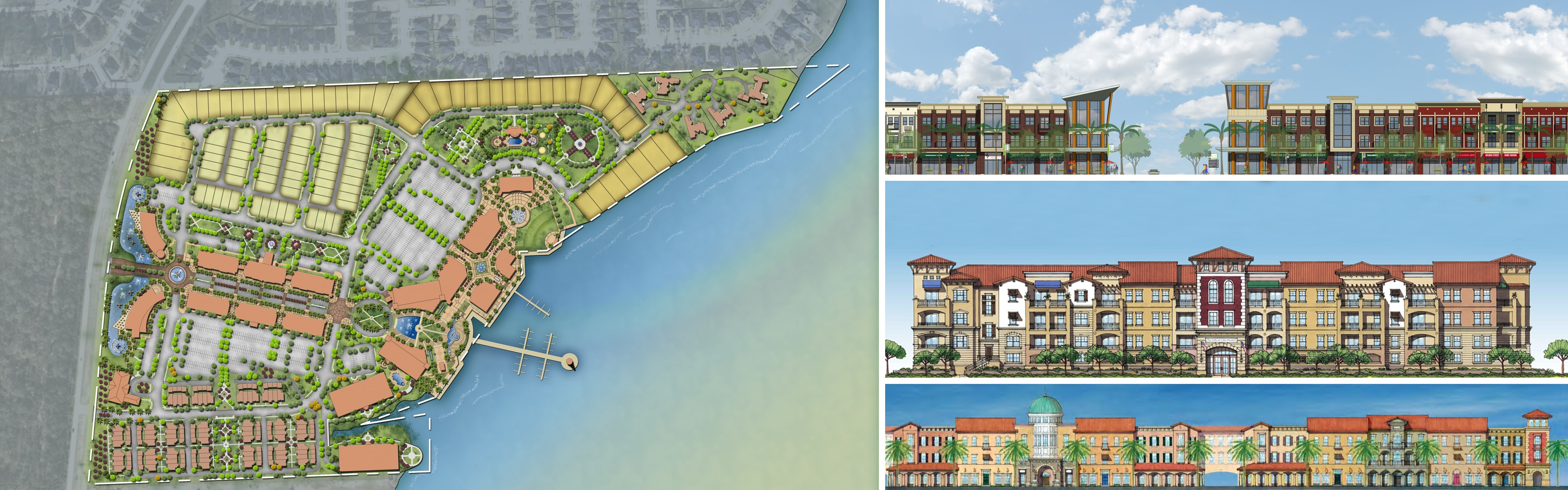 Master planned community architecture design