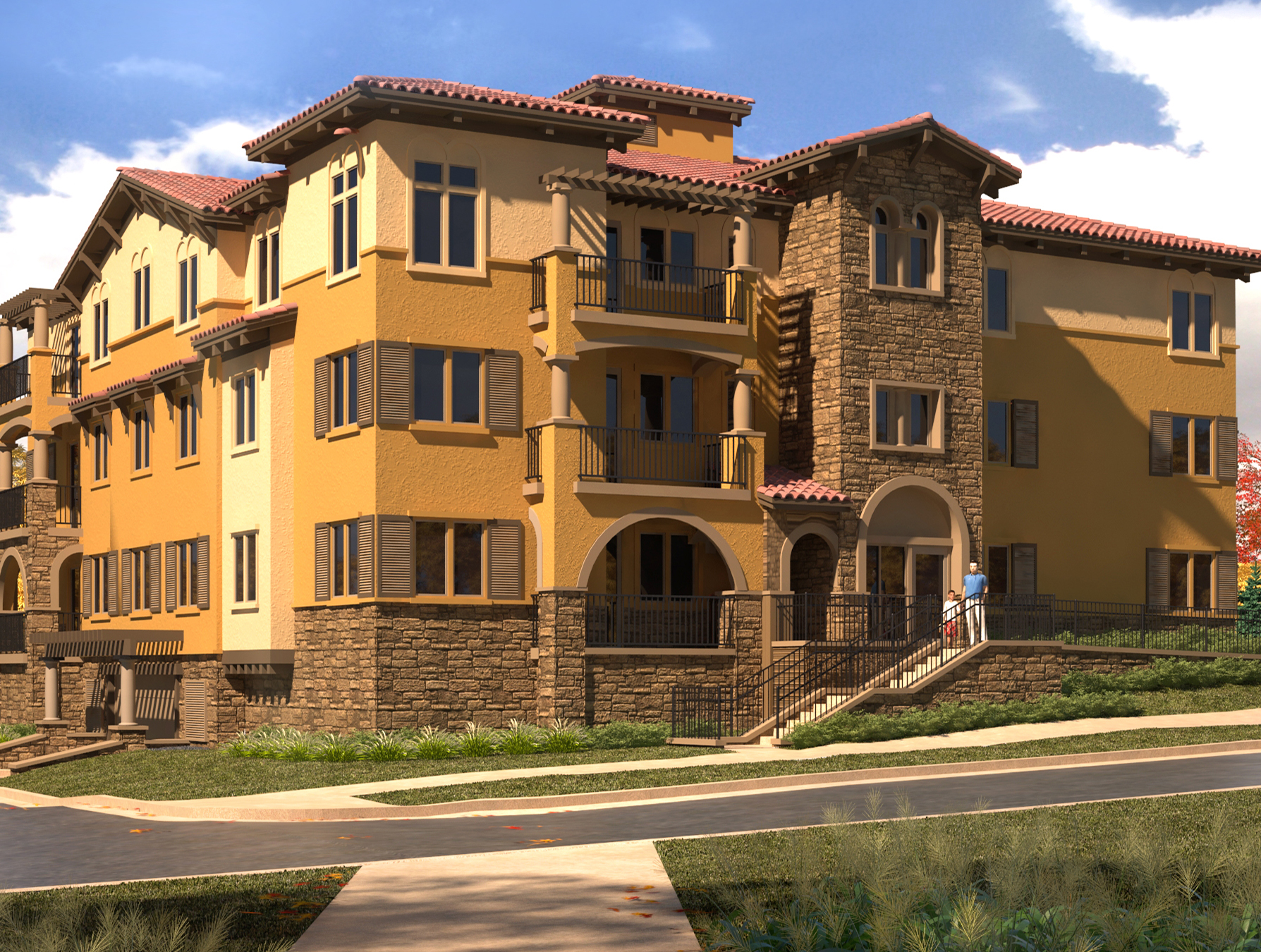 Housing architecture solution provided from an architecture firm located in Colorado